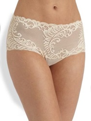 Natori Foundations Feathers Brief Cafe Black