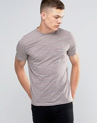 Another Influence Striped T Shirt Grey