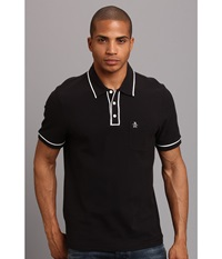 Original Penguin Earl Polo Caviar Men's Short Sleeve Pullover Black
