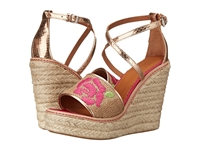 M Missoni Burlap Wedge With Embroidery