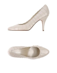 Lodi Pumps Ivory