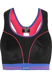 Shock Absorber Ultimate Run Mesh And Stretch Jersey Sports Bra
