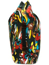 Marni Oversized Backpack Multicolour