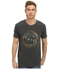 Lucky Brand Pink Floyd Rainbow Graphic Tee Black Mountain Men's T Shirt