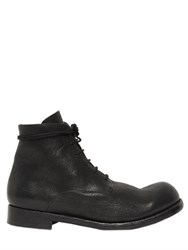 The Last Conspiracy 30Mm Matte Leather Lace Up Boots