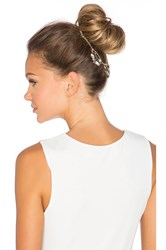 Lelet Ny Oscar Top Knot Halo Metallic Gold
