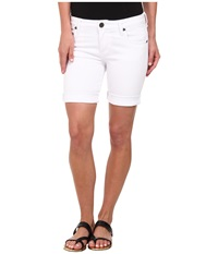Kut From The Kloth Catherine Boyfriend Short White Women's Shorts