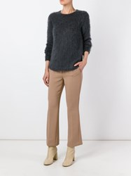 Dorothee Schumacher 'Cool Content' Cropped Trousers Nude And Neutrals