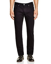 Armani Collezioni Five Pocket Slim Fit Jeans Black