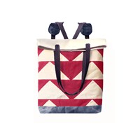 Mclovebuddy Bunting Convertible Tote Backpack Red