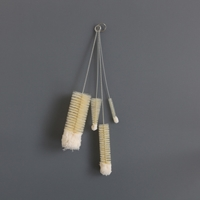 Labour And Wait Set Of 4 Bottle Brushes