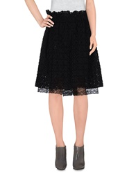 Laviniaturra Knee Length Skirts Black