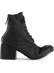 Marsell Marsell Back Zip Ankle Boots Black