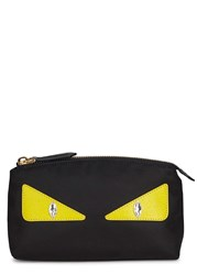 Fendi Monster Black Cosmetics Case