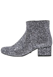 Buffalo Ankle Boots Pewter Silver
