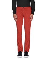 J.W. Tabacchi Trousers Casual Trousers Men Red