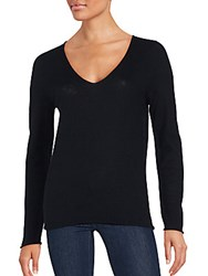 Zadig And Voltaire Wool Blend Long Sleeve Sweater Black