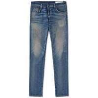 Rag And Bone Standard Issue Skinny Jean Blue