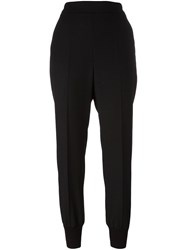Stella Mccartney Tapered Jogging Trousers Black