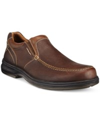 Johnston And Murphy Men's Lance Venetian Slip On Waterproof Loafers Men's Shoes Mahogany
