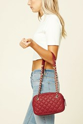 Forever 21 Quilted Faux Leather Bag