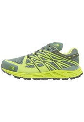 The North Face Ultra Endurance Gtx Trail Running Shoes Duck Green Lime Green