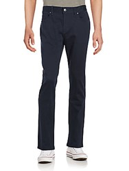 Perry Ellis Solid Slim Fit Jeans Dark Sapphire