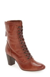 Johnston And Murphy Women's 'Adaline' Lace Up Boot Whiskey Washed Leather