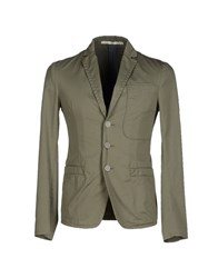M.Grifoni Denim Suits And Jackets Blazers Men Military Green