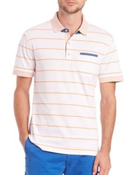 Robert Graham Grover Striped Knit Polo