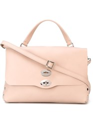 Zanellato 'Postina' Satchel Pink And Purple