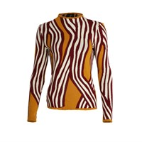 Ekaterina Kukhareva Striped Jumper Yellow Orange