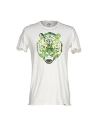 Jcolor Topwear T Shirts Men Ivory