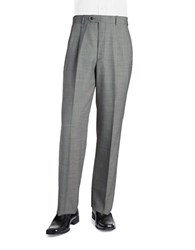 Palm Beach Stan Pleated Suit Pants Grey