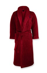 Ralph Lauren Home Langdon Bath Robe Red