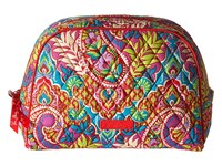 Vera Bradley Large Zip Cosmetic Paisley In Paradise Cosmetic Case Multi