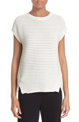 Fuzzi Women's Cap Sleeve Sweater