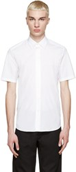 Marc Jacobs White Silk Trim Shirt