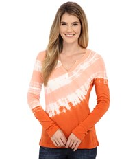 Royal Robbins Sunburst Long Sleeve Top Dusty Coral Women's Long Sleeve Pullover White
