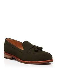 Mark Mcnairy Mcnasty Suede Tassel Loafers Green