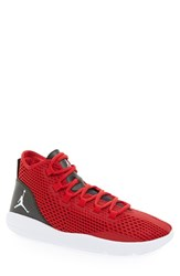 Nike Men's 'Jordan Reveal' High Top Sneaker Gym Red White Black Red
