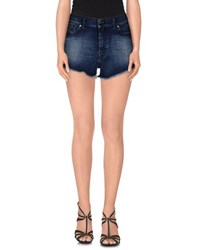 Diesel Denim Denim Shorts Women