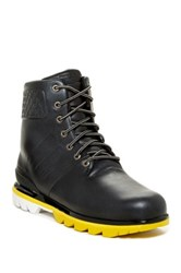 Porsche Design Intermediate Lace Up Boot Black