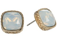 Cole Haan Stone Stud Earrings Ii Gold Sand Opal Earring