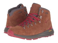 Danner Mountain 600 4.5 Brown Red Men's Shoes