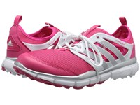 Adidas Climacool Ii Raspberry Rose Tmag Ftwr White Silver Metallic Women's Golf Shoes Pink