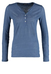 Marc O'polo Long Sleeved Top Washed Blue