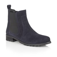 Lotus Nydia Suede Ankle Boots Navy