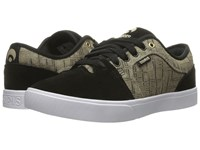 Osiris Decay Cross Hatch Men's Skate Shoes Black
