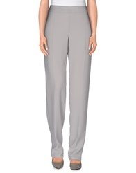 Armani Collezioni Trousers Casual Trousers Women Grey